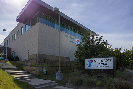 Exterior photo of the White Rock YMCA