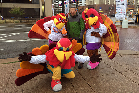 Dallas YMCA Turkey trot