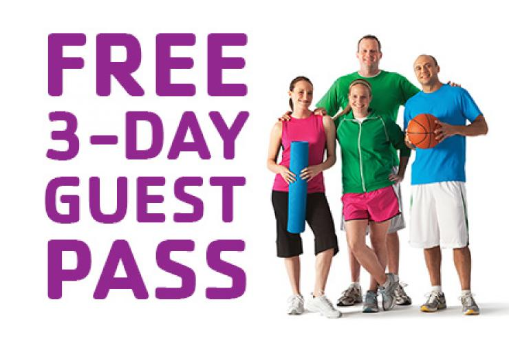 FREE 3-Day Guest Pass